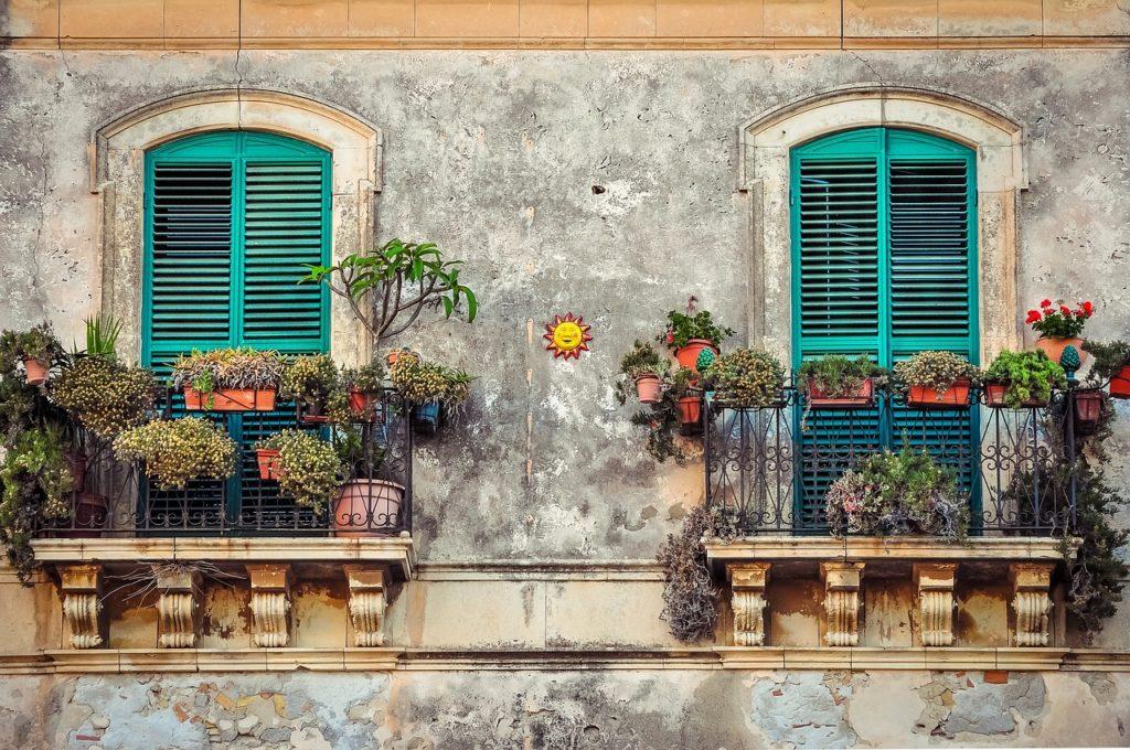Décoration de balcon