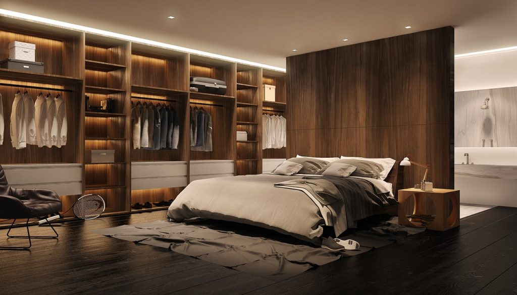 tout sur la d coration int rieure d 39 une chambre adulte. Black Bedroom Furniture Sets. Home Design Ideas