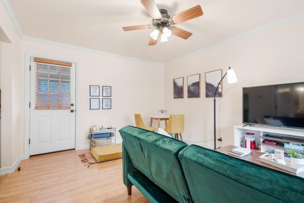 Ventilateur plafond salon